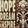 placa decorativa hope dream casa cafe e mel