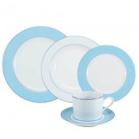 aparelho de jantar maite porcelana schmidt casa cafe e mel