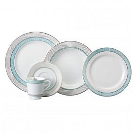 aparelho de jantar audrey porcelana schmidt casa cafe e mel