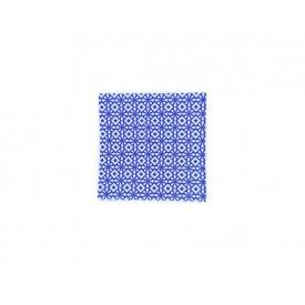 guardanapo de papel geometrico azul casa cafe e mel 2