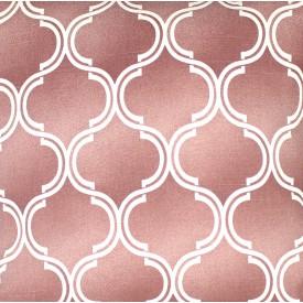 jogo americano de tecido agata cortbras rosa com detalhes branco 7510 casa cafe e mel