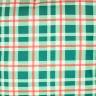 jogo americano de tecido aquamarine cortbras xadrez verde 502 casa cafe e mel