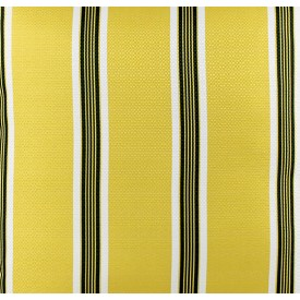 jogo americano de tecido trancoso cortbras amarelo com listras 2405 casa cafe e mel