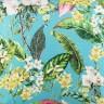 jogo americano de tecido trancoso cortbras verde agua com folhas 2401 casa cafe e mel