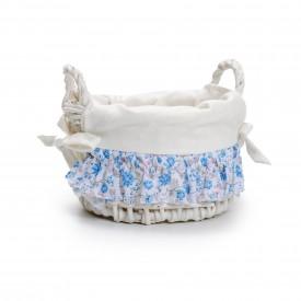 cestinha redonda flores azul com alca cromus 1620542 casa cafe e mel copiar