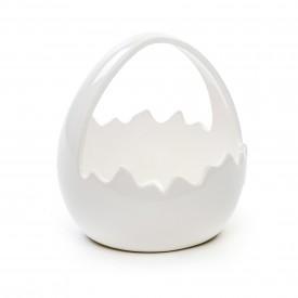 cesta ceramica ovo branco 1823582 cromus casa cafe e mel