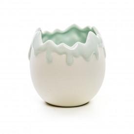 meio ovo decorativo verde 1823891 cromus casa cafe e mel