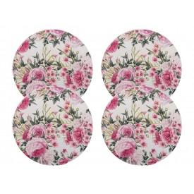 sousplat bendita feitura floral rosa lilas kit 4 casa cafe e mel 5 a