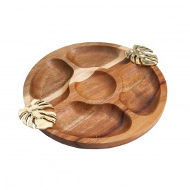 petisqueira madeira costela de adao dourado 26955 a rojemac casa cafe e mel