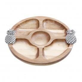 petisqueira madeira abacaxi prata 25721 a rojemac casa cafe e mel 1