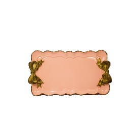 bandeja resina laco rosa 98776 lunne casa cafe e mel