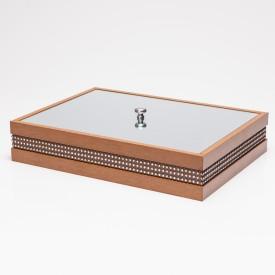 caixa madeira perfil detalhes g 11630 woodart casa cafe e mel