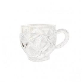 xicara de vidro carol jh0100 pra caza casa cafe e mel