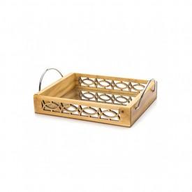 bandeja madeira com espelho e alca 16062 marimar casa cafe e mel