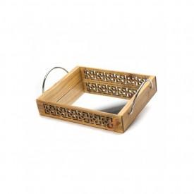 bandeja madeira com espelho e alca 16065 marimar casa cafe e mel