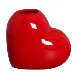 vaso coracao vermelho 21 357 casa cafe e mel