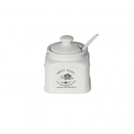acucareiro com colher sweet home 8568 lyor casa cafe e mel