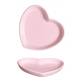 mini prato decorativo de coracao rosa 79 388r silveira casa cafe e mel