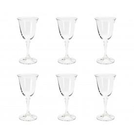 taca para vinho branco cristal kleopatra 6 pecas 250ml 5230 rojemac casa cafe e mel