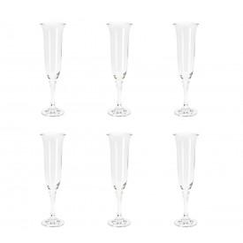 taca para champagne cristal kleopatra 6 pecas 175ml 5232 rojemac casa cafe e mel