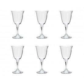 taca para vinho cristal kleopatra 6 pecas 290ml 5231 rojemac casa cafe e mel