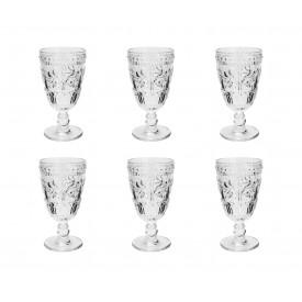tacas para agua vidro arabesco 294ml 7353 lyor casa cafe e mel