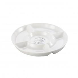 petisqueira ceramica sweet home o28cm branco 8130 lyor casa cafe e mel