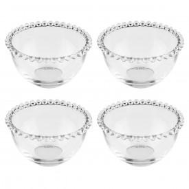conjunto bowls cristal pearl 4 pecas 14cm 27895 wolff casa cafe e mel 4