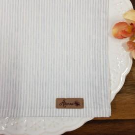 guardanapo de tecido 6 pecas azul listras amora casa casa cafe emel