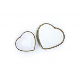 conjunto de pratinhos coracao porcelana 2 pecas dec02095 casa cafe e mel 5