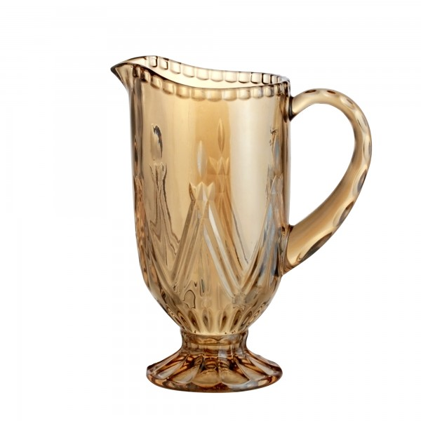 jarra de vidro 1 2 litro ambar 28134 bon gourmet casa cafe e mel 1