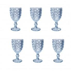 taca para agua roman azul metalizado 35457 rojemac casa cafe e mel 1