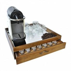 caixa para maquina e capsulas nespresso 17127 marimar casa cafe e mel