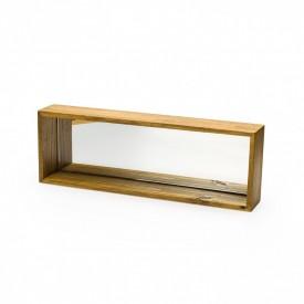 nicho para cubos decorativos espelhado 45x15cm 186601 marimar casa cafe e mel