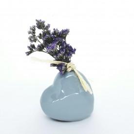vaso decorativo ceramica coracao 022009 cinza casa cafe e mel 8