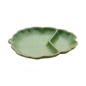 petisqueira de ceramica banana leaf verde 4125 lyor casa cafe e mel 1