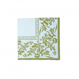 guardanapo de papel branco com dourado gp 067 casa cafe e mel