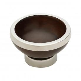 centro de mesa decorativo madeira com borda em metal 27515 wolff casa cafe e mel 1