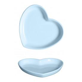 prato ceramica coracao 18x16cm azul 79 335a silveira casaafe e mel