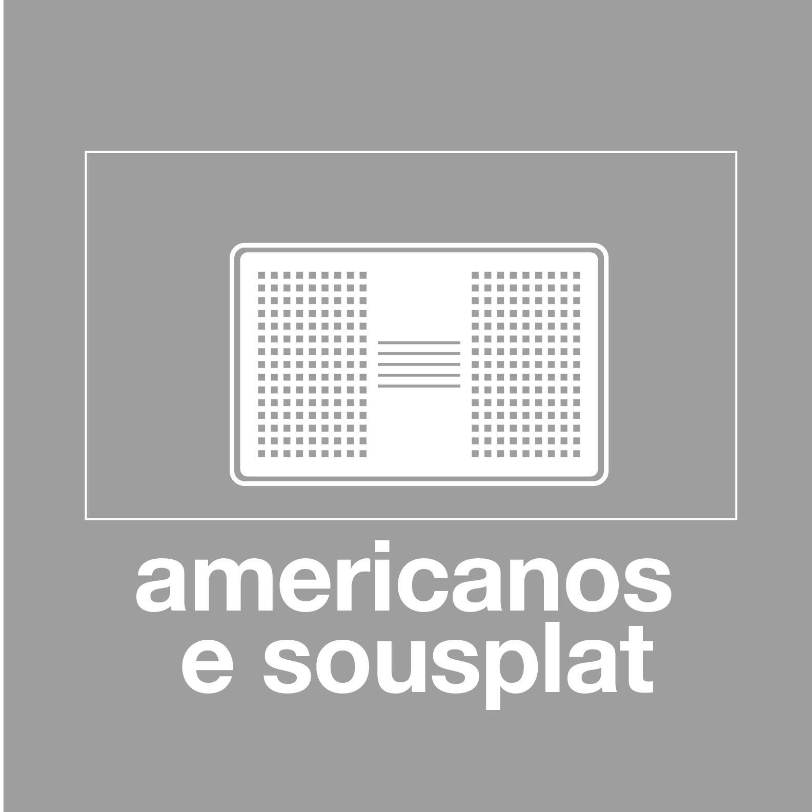 Americanos e Sousplat