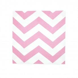 guardanapo de papel 20 pecas branco e rosa pw11408 casa cafe e mel 1