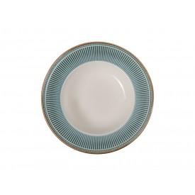 prato fundo ceramica toscana 810300320 azul corona casa cafe e mel