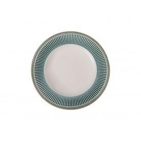 prato para sobremesa ceramica toscana 810300318 azul corona casa cafe e mel