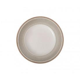 prato para sobremesa ceramica toscana 810300322 cinza corona casa cafe e mel