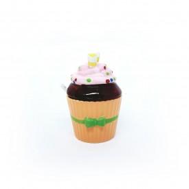 acucareiro cupcake porcelana com colher laranja 73333 l casa cafe e mel 1